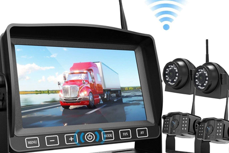 Stand Alone Rear View Camera Recorder System